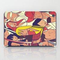 bill iPad Cases featuring Kill Bill by Ale Giorgini