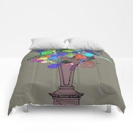 Joke Flower Comforters