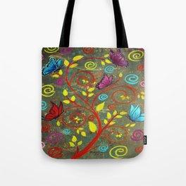 Butterflies-5 Tote Bag