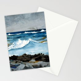 Winslow Homer Shore and Surf, Nassau Stationery Cards