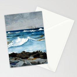 Winslow Homer Shore and Surf, Nassau Stationery Cards