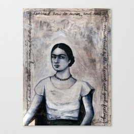 Drowning Sorrows  Canvas Print