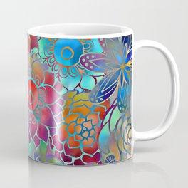 Flowery Summer Pattern Coffee Mug
