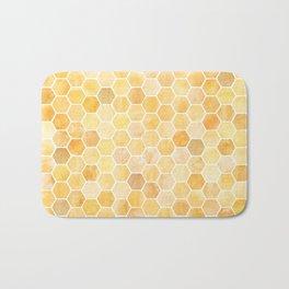 Honeycomb Pattern Bath Mat