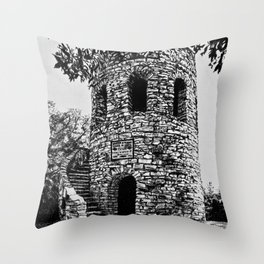 Winterset Tower Throw Pillow
