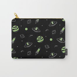 Outer Space (Black) Carry-All Pouch