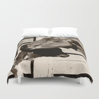 cows Duvet Covers featuring Cows by Ana Francisconi