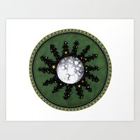 Circle The Moon Art Print