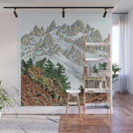BEYOND MOUNT SHUKSAN AUTUMN COLOR VERSION Wall Mural