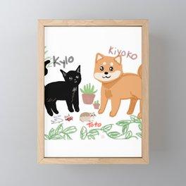 Pets Framed Mini Art Print