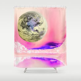 Do You Think There Is Intelligent Life On Earth? Shower Curtain