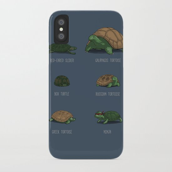 Know Your Turtles iPhone Case