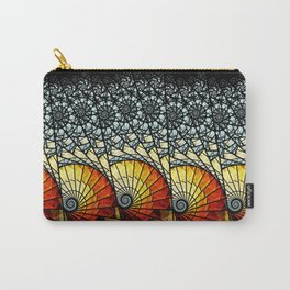 Billow - Abstract Fractal Artwork Carry-All Pouch