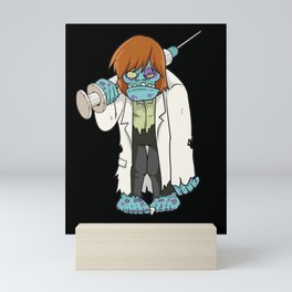 Doctor Zombie | Halloween Horror Mini Art Print