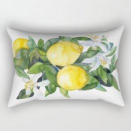 lemon tee Rectangular Pillow