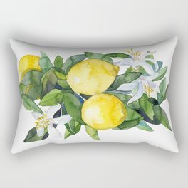 lemon tee Rectangular Pillow