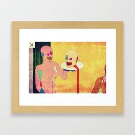 Salome's Transgression Framed Art Print