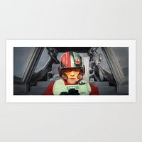 rebel Art Prints featuring Rebel by Rabassa