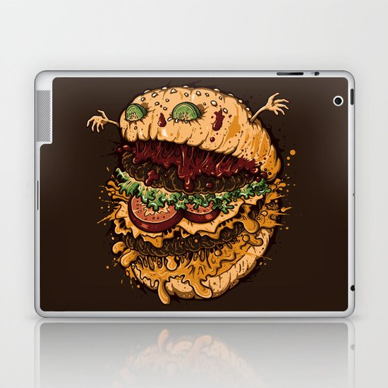 Monster Burger Laptop & iPad Skin