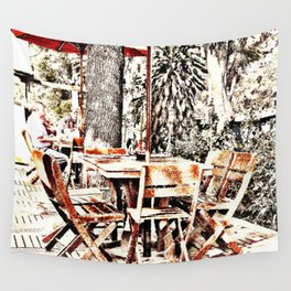 Outdoor Lunch Wall Tapestry