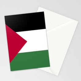 Palestine flag emblem Stationery Cards
