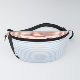 bitone sun with sail Fanny Pack