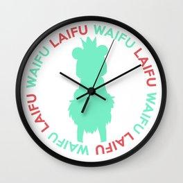 Waifu Laifu Sugar Inspired Shirt Wall Clock