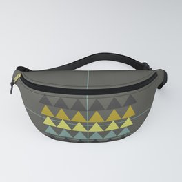 disguise forest || spring neon Fanny Pack