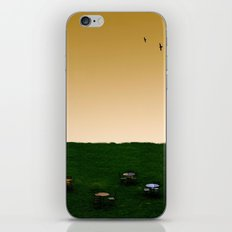 Everywhere and Nowhere iPhone & iPod Skin