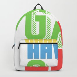 Thank you! Have a gay day - Gay Backpack