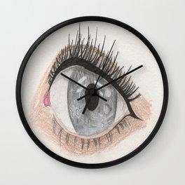 The Eye Sees Mercury Wall Clock