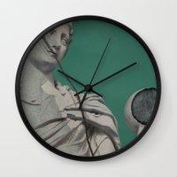 dragon ball Wall Clocks featuring Ball by arantzazugcalderon