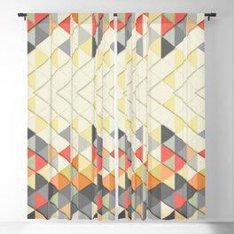 Triangular Blackout Curtain