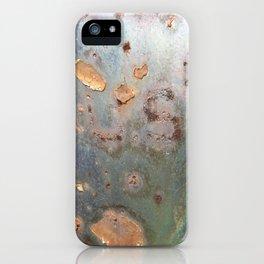 USA in Rust iPhone Case