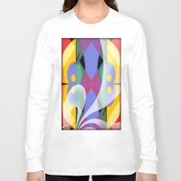 milky way Long Sleeve T-shirts featuring Milky Way by Kristine Rae Hanning