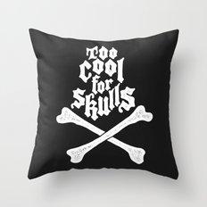 Skulled Throw Pillow