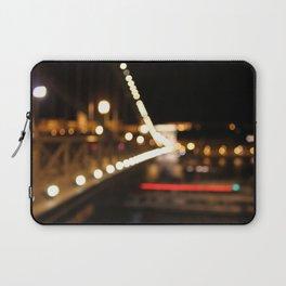 Budapest Bokeh Laptop Sleeve