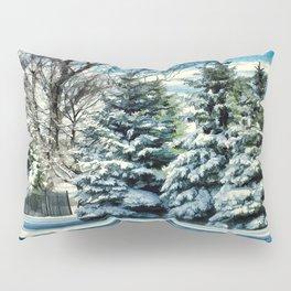 Winter In New England Pillow Sham
