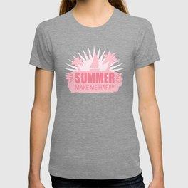 Summer Make Me Happy pw T-shirt