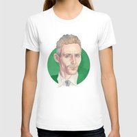 tom hiddleston T-shirts featuring Hiddleston by Megan Diño