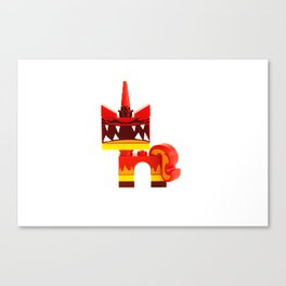 Angry Unikitty Canvas Print