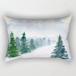 Winter fairy tale Rectangular Pillow