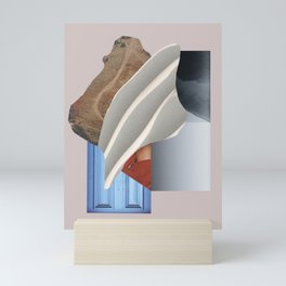 Modern Photo Collage - Abstract Object Collage - Minimal Collage Mini Art Print