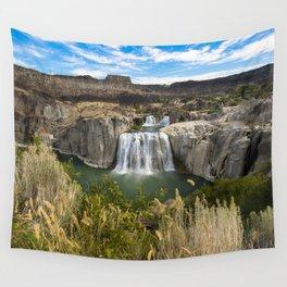Waterfall Photography - Shoshone Falls Idaho Wall Tapestry
