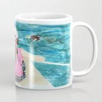mermaids Mugs featuring Mermaids by Condor