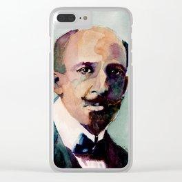 W.E.B. Du Bois Clear iPhone Case
