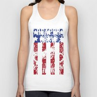 sons of anarchy Tank Tops featuring Sons of Anarchy - Reaper Crew by QINdesign