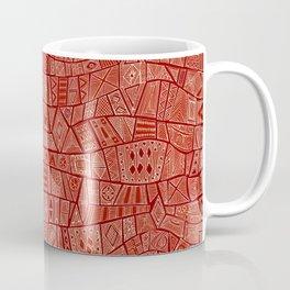 ESHE red mono Coffee Mug