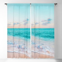 Ocean Bliss #society6 #society6artprint #buyart Blackout Curtain