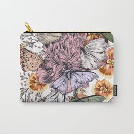Butterflies are self propelled flowers. Carry-All Pouch